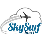 Logo for Most economical flight planning and booking website for world travel Idea