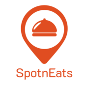 Logo for SpotnEats - UberEats Clone Solution