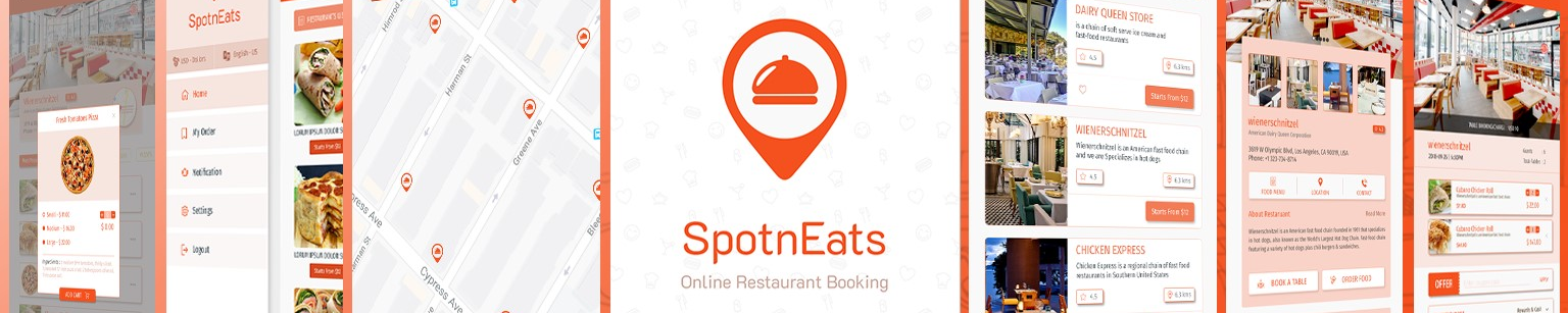 Cover for SpotnEats - UberEats Clone Solution service