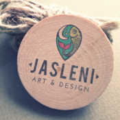 Logo for Jasleni  Designs