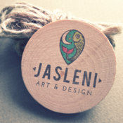Logo for Jasleni Art & Design